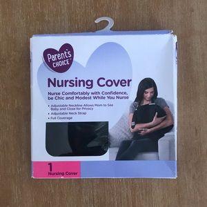 NWT Parent's Choice Black Nursing Cover